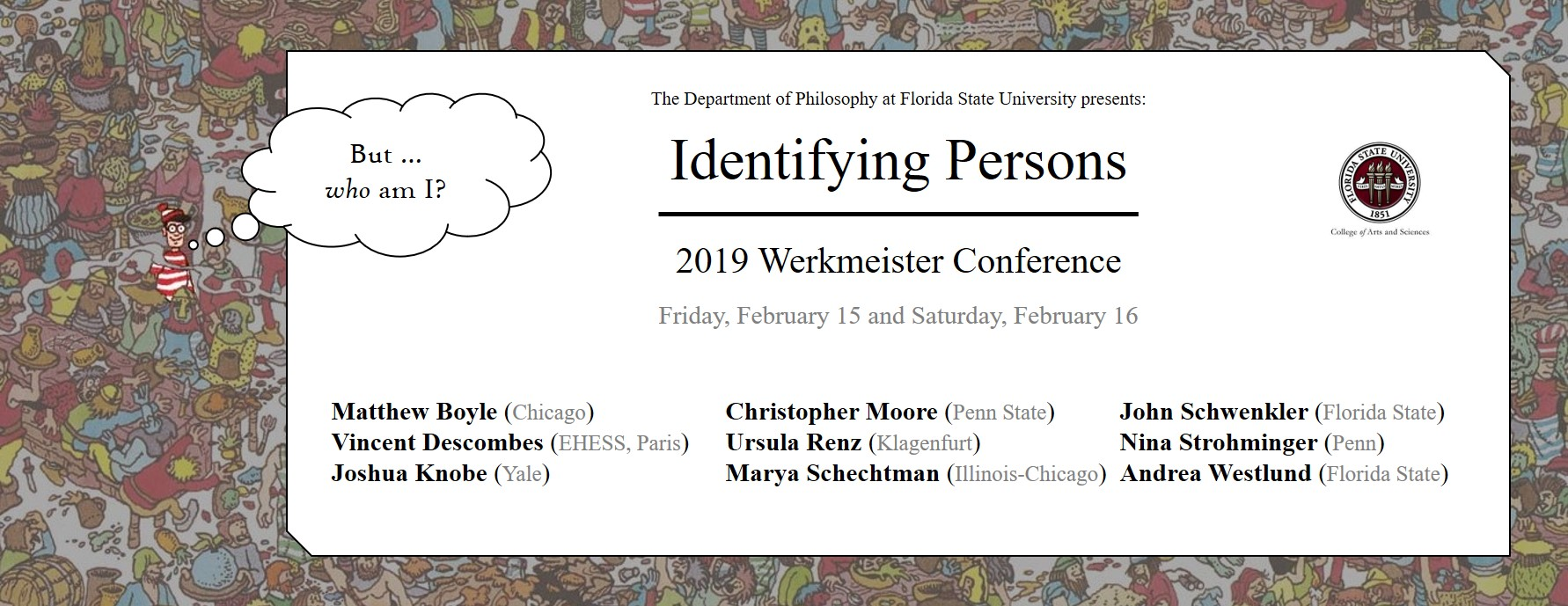 2019 werkmeister conference announcement identifying persons